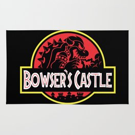 Bowser's Jurassic Castle Rug