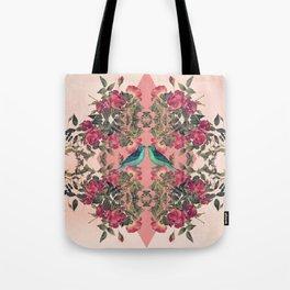 Love Birds II (pink edition) Tote Bag