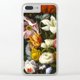 Victorian Bouquet by Severin Roesen Clear iPhone Case