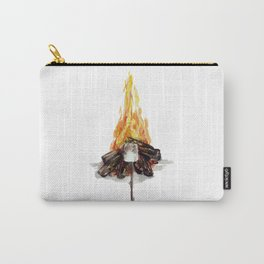 Campfire, Smore, Marshmallow Roasting, Camping Carry-All Pouch