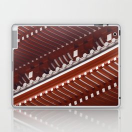 Pagoda roof pattern Laptop & iPad Skin