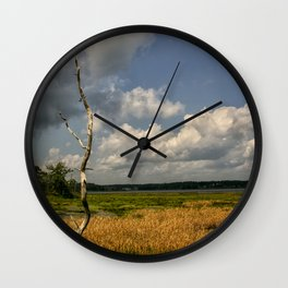 Salt Marsh Wall Clock