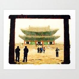 Seoul Grand Palace Art Print
