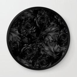 flowers 31 Wall Clock