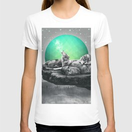 Echoes of a Lullaby / Geometric Moon T-shirt