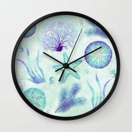 Ocean Bliss Wall Clock