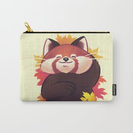 Relaxing Red Panda Carry-All Pouch
