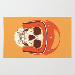 Helmet Skull Rug