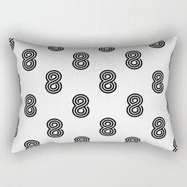 Crazy 8s Rectangular Pillow