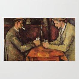 The Card Players Paul Cézanne Rug