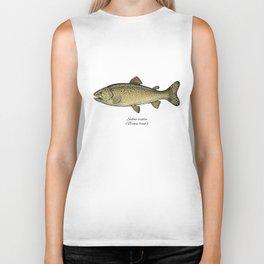 Brown trout Biker Tank