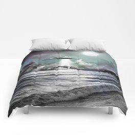 Whaling UFO Comforters