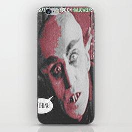 "'Count Orlock, the Vampire #3' from "" Nosferatu vs. Father Pipecock & Sister Funk (2014)"" iPhone Skin"