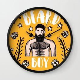 Beard Boy: Alejandro 2 Wall Clock