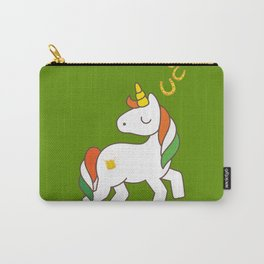 St. Patrick's Day Unicorn 2 Carry-All Pouch