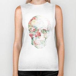 Skull Bouquet Biker Tank