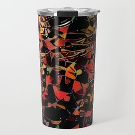 Sketchy Mosiac Travel Mug