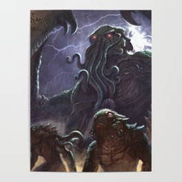 Lovecraft Posters | Society6