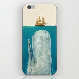 The Whale - colour option iPhone Skin