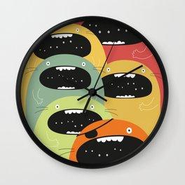 Monster gang. Wall Clock