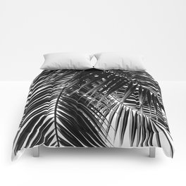 Tropical Vibes | Black and White Comforters
