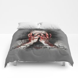 Rick Grimes from The Walking Dead Comforters