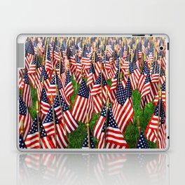 Field Of Flags Laptop & iPad Skin