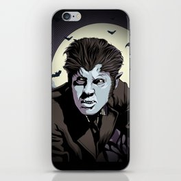 Wolfman iPhone Skin