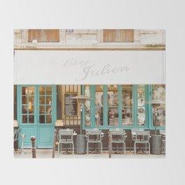 Chez Julien Throw Blanket