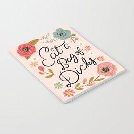 Pretty Swe*ry: Eat a Bag of D*cks Notebook
