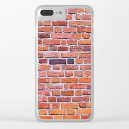 Brick wall Clear iPhone Case