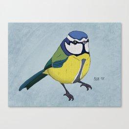 The Blue Tit Canvas Print