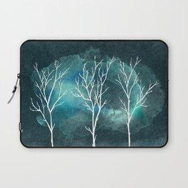 Trees In Winter Laptop Sleeve