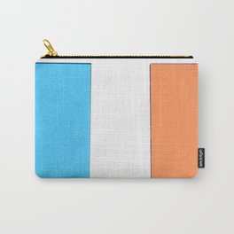 Squares in cross Carry-All Pouch
