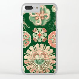 Ernst Haeckel Discomedusae Jellyfish Clear iPhone Case