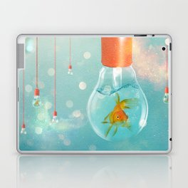 Ideas and Goldfish ... Laptop & iPad Skin