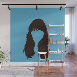 Zooey Deschanel Wall Mural