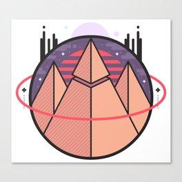 Pyramids of Mars Canvas Print