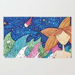 Mermaid Joy Rug