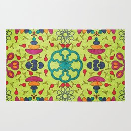 Colorful Mandala #05 Rug