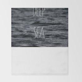 Deep Sea Throw Blanket