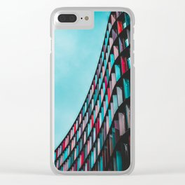 Architecture Live In Color Clear iPhone Case
