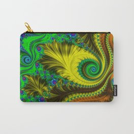Fractal - My Mother's Dress Carry-All Pouch