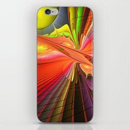 Fire dance iPhone Skin