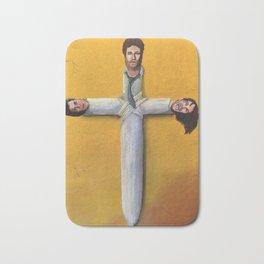 Trifecta - Cross Joint from Pineapple Express Bath Mat
