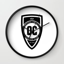 Soccer Club Wall Clock