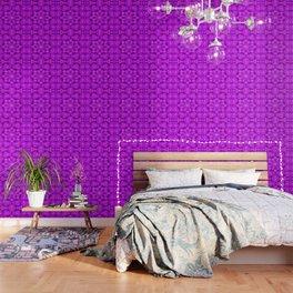 Star blossom pattern Wallpaper