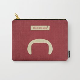 Hogan (Famous mustaches and beards) Carry-All Pouch