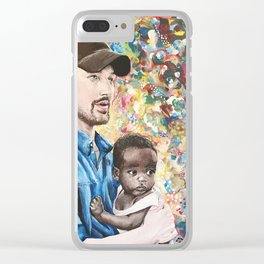 He Went To Africa Clear iPhone Case
