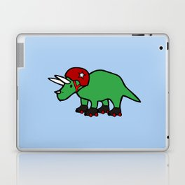 Roller Derby Triceratops Laptop & iPad Skin